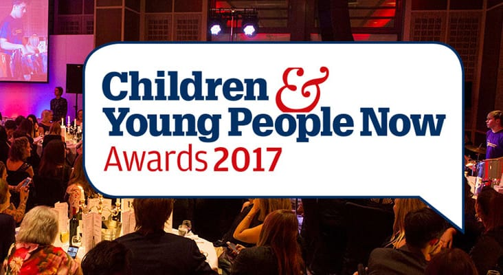 Mind Of My Own wins Children and Young People Now Award 2017!