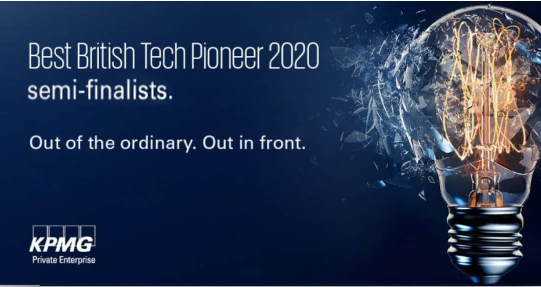 KPMG's Best British Tech Pioneer 2020 competition